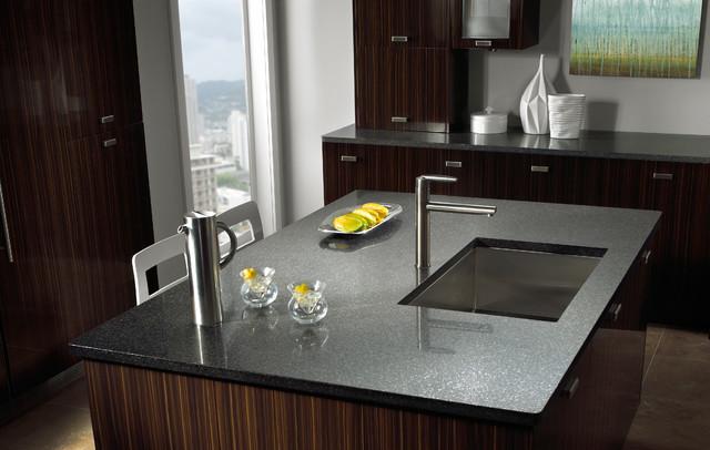 Silestone In Zirconium Kitchen