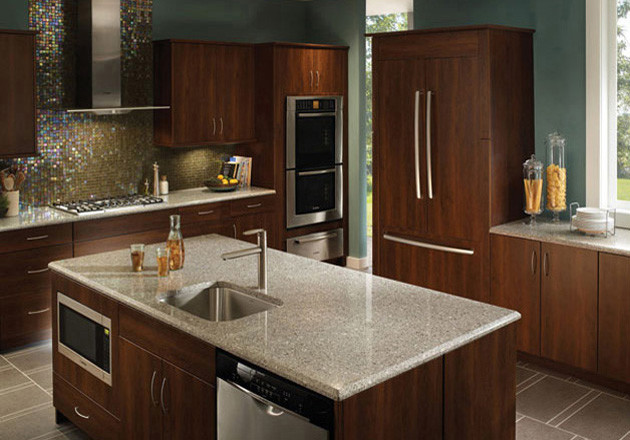 silestone quartz surfaces contemporary kitchen
