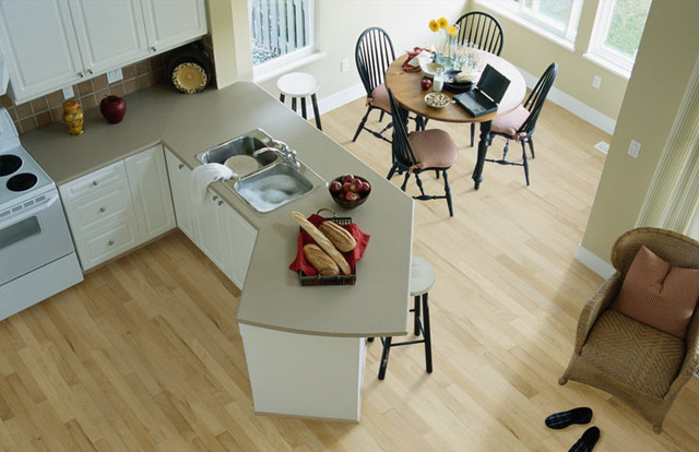 Silhouette Flooring traditional-kitchen