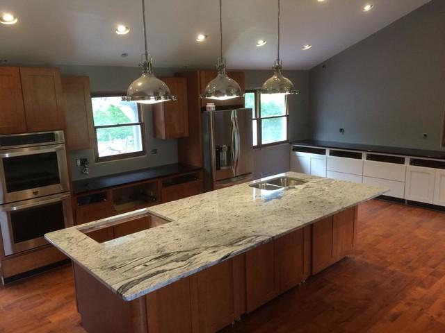 Silver Cloud Granite Kitchen Indianapolis