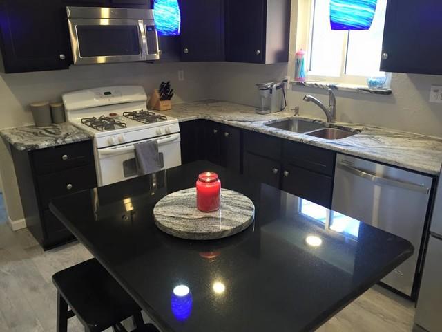 Silver Cloud Granite Kitchen - Modern - Kitchen - St Louis - by ...