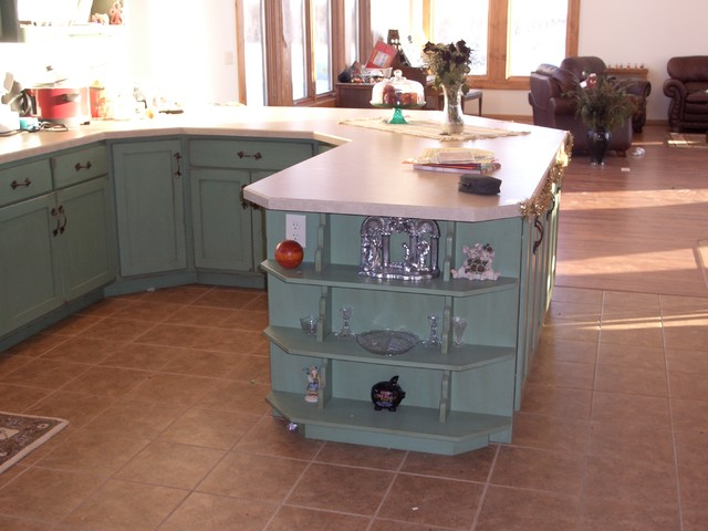 Silver Leaf Luxury Cabinets Within Reach