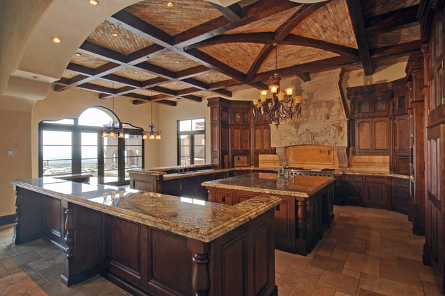 Silverleaf spanish colonial custom home mediterranean for Custom colonial homes