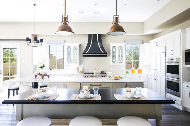 ... Custom Home - Mediterranean - Kitchen - Phoenix - by Luster Custom