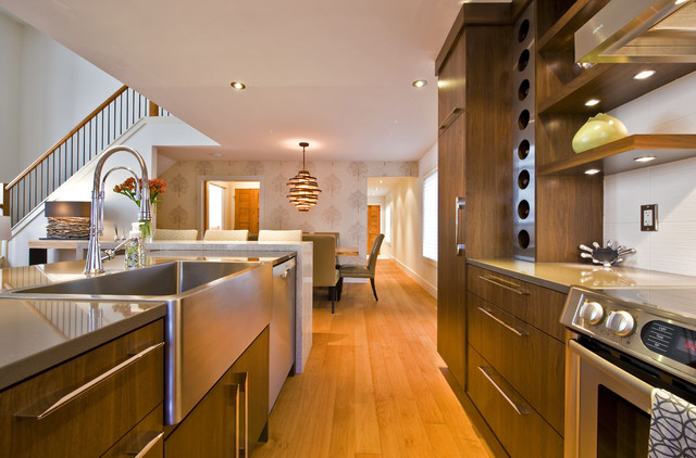 SILVERTIP RIDGE contemporary-kitchen
