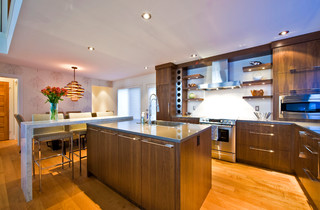 Silvertip Ridge Contemporary Kitchen Calgary By Sticks And Stones Design Group Inc