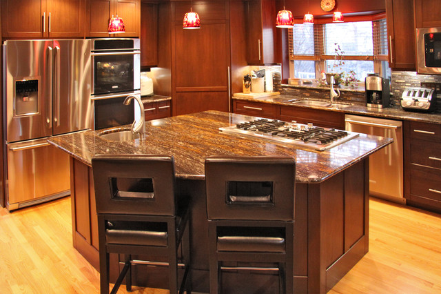 Silverwood saskatoon eclectic kitchen eclectic for Kitchen designs by delta