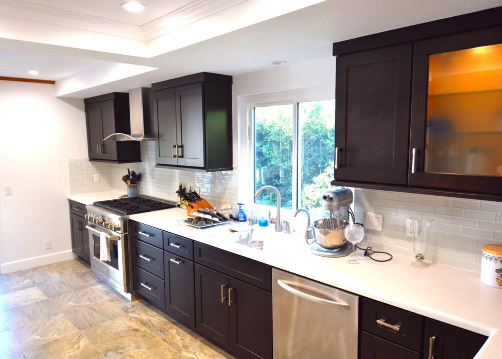 Simi Valley Kitchen Complete Remodel - Modern - Kitchen ...
