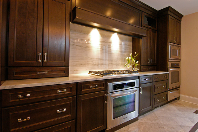 Simple And Sleek Contemporary Kitchen Chicago By Ddk Kitchen Design Group