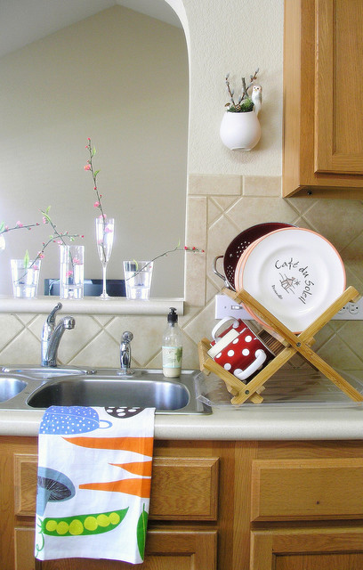 Kitchen Fix Where To Hang The Dish Towels