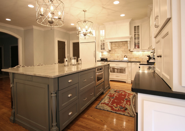 Simplified chic contemporary kitchen charlotte by Bathroom cabinets greensboro nc
