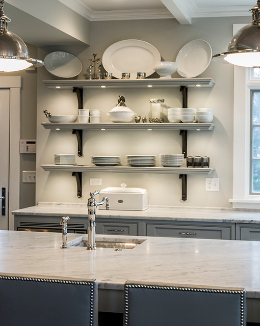 Simply Beautiful - Swedish Inspiration, Glen Ellyn, IL traditional-kitchen