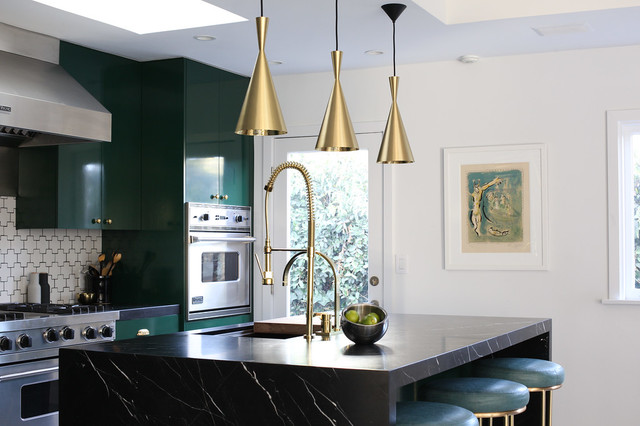 Singer Residence contemporary-kitchen