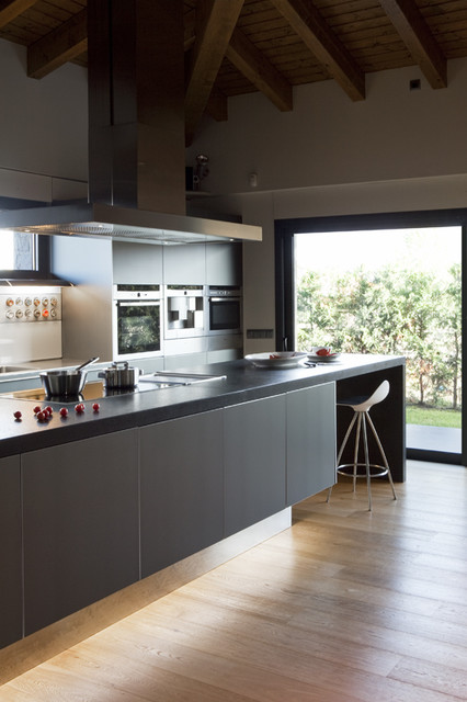 Single Family Home In Puigcerd Contemporary Kitchen Other Metro By Greek Barcelona