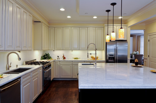 The under cabinet lighting, LED warm white or cool white??