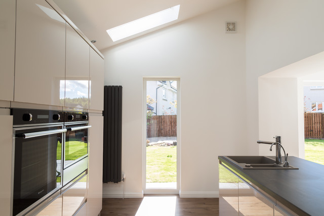 Single Storey Extension Stepps Contemporary Kitchen