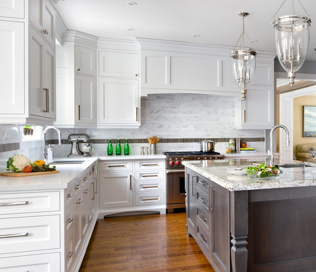 Kitchens With Carrera Marble Countertops