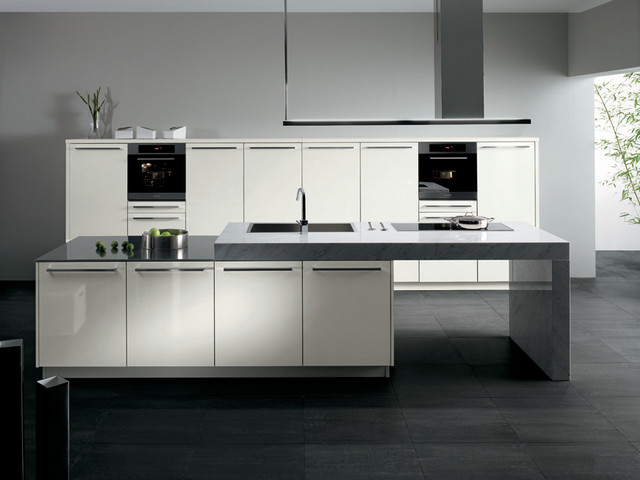SINTESI by Snaidero design - Beijing white gloss laminate