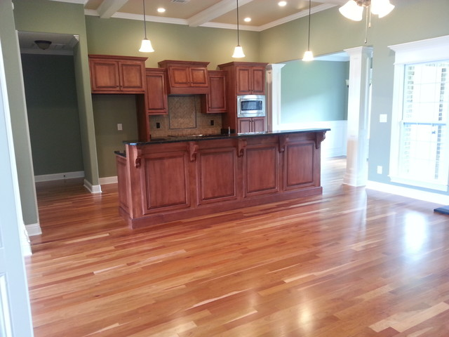Site Finished Hardwood Projects traditional-kitchen