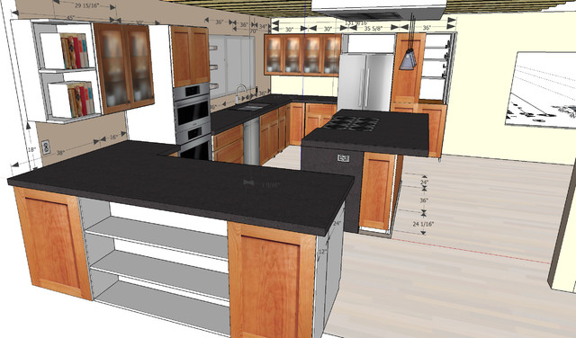 Sketchup Designs Kitchen Other Metro