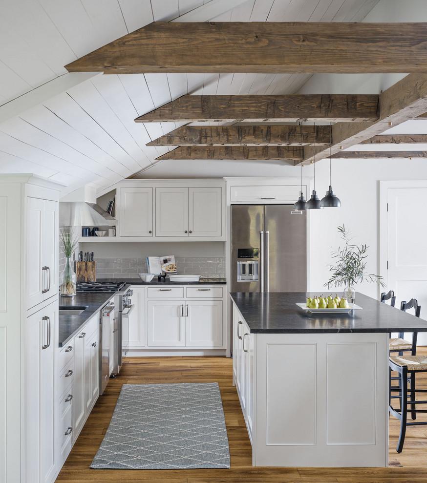 Ski Home Remodel, Vermont - Rustic - Kitchen - Burlington ...