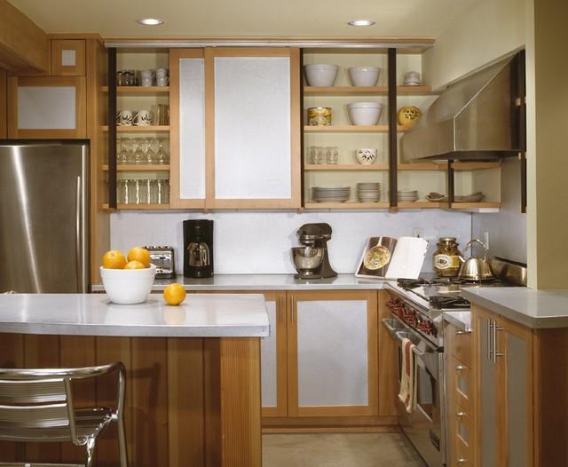 Ski House rustic-kitchen