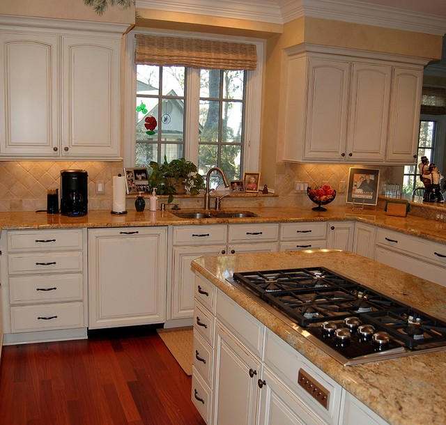 Skidaway Island Private Residence traditional-kitchen