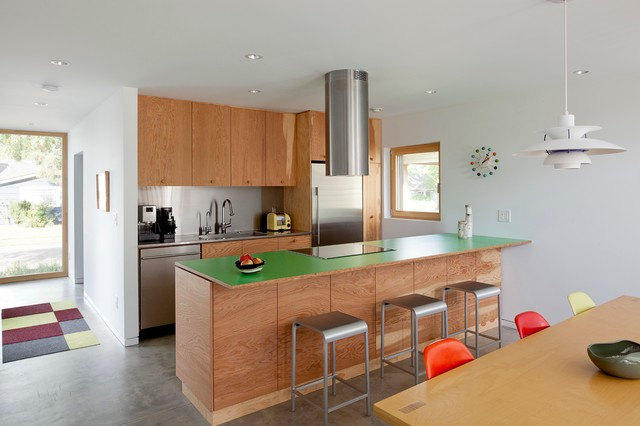 skidmore passivhaus - Contemporary - Kitchen - Portland - by In Situ Architecture