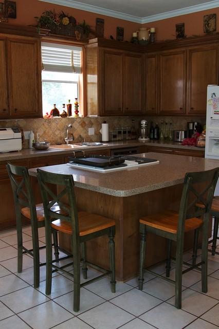 Skinner Kitchen Photo Enhancement contemporary-kitchen