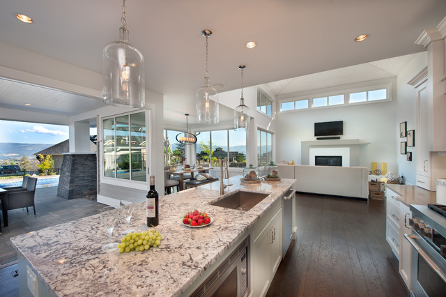Skylands Show Home contemporary-kitchen