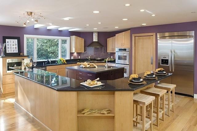 Skyline, Portola Valley - AFTER contemporary-kitchen