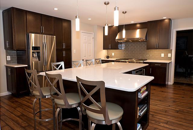 Sleek And Modern Modern Kitchen