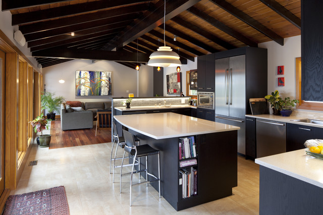 modern kitchen by LOTOS Construction