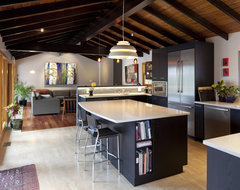 Sleek Caulfield rustic-kitchen