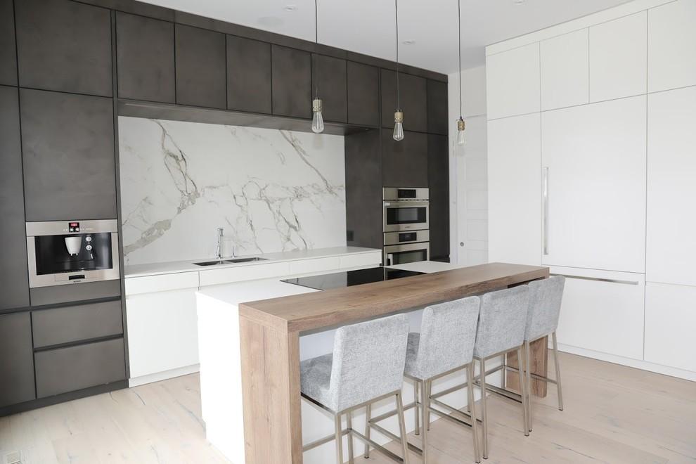 Sleek Kitchen Modern, Sleek Kitchen Cabinets Design