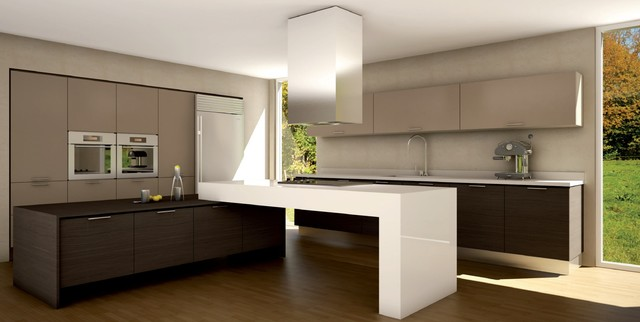 SLEEK KITCHENS - Contemporary - Kitchen - Miami - by MILESTONE TRENDS