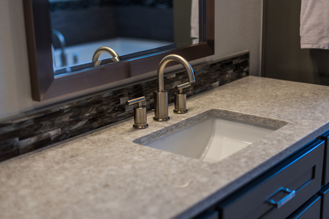 Sleek Sophisticated In Shadow Valley Transitional Kitchen Other By New Century Counter Tops