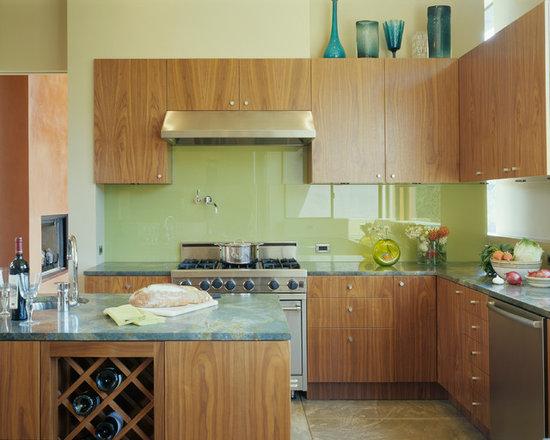 wood countertop kitchen design ideas remodels photos