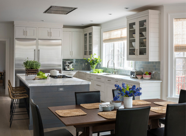 Sleepy Hollow Transitional transitional-kitchen
