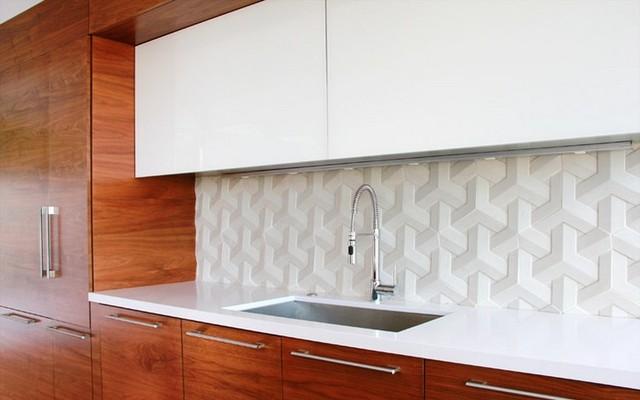 Slide N Hide in the Hollywood Hills modern-kitchen