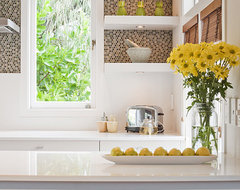 Slightly Retro eclectic-kitchen