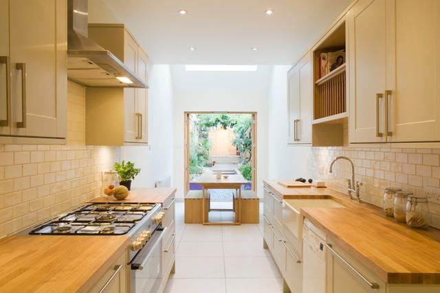 Slim House, London - Contemporáneo - Cocina - Londres - de Alma-nac