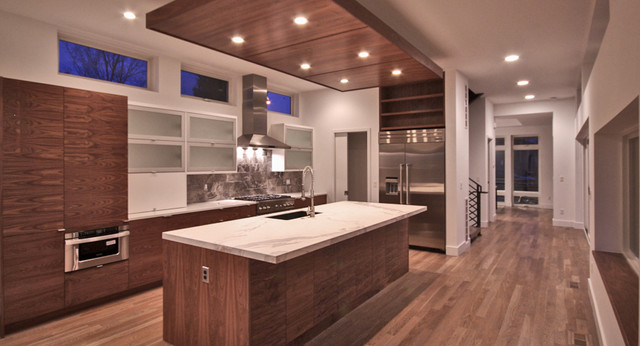 Sloans Lake House Modern Kitchen Denver By Solid Architectural Design