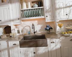 Small Beach House Kitchen beach-style-kitchen