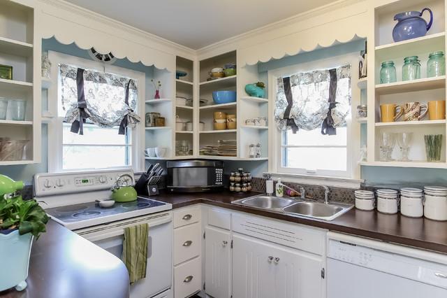 Small Cape Cod Remodel - Eclectic - Kitchen - Grand Rapids ...