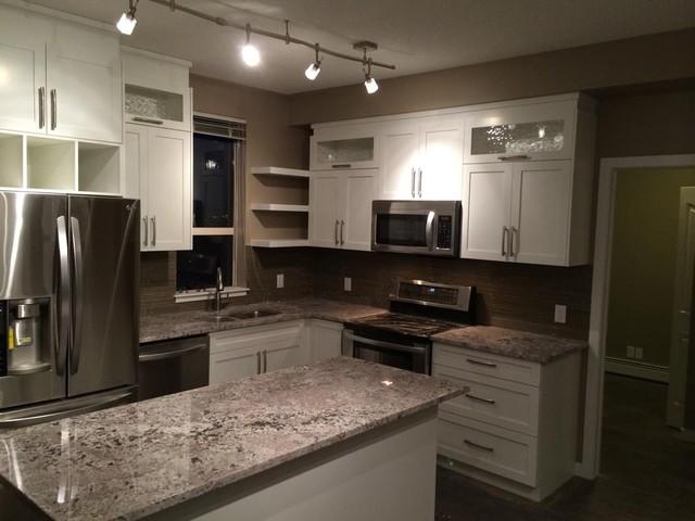 Fabulous Small Condo Kitchen Contemporary Kitchen Calgary By Beutiful Home Inspiration Xortanetmahrainfo