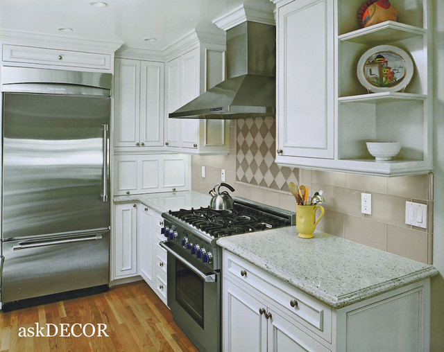 Small contemporary kitchen traditional kitchen other for Traditional kitchen meaning