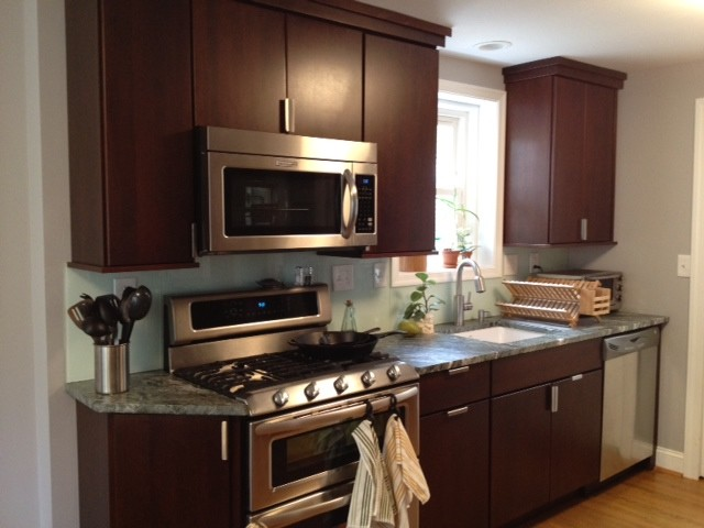 Small Contemporary Kitchen Contemporary Kitchen Philadelphia