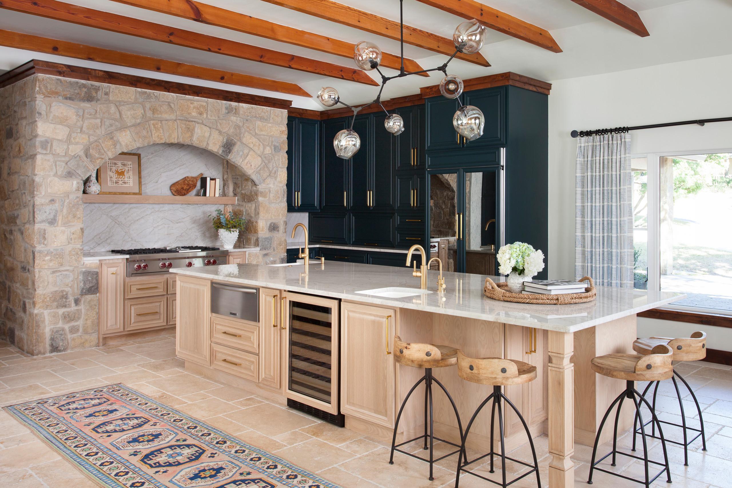 75 Beautiful Mediterranean Kitchen Pictures Ideas April 2021 Houzz