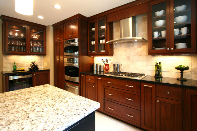 Small Elegant Kitchen Remodels - contemporary - kitchen